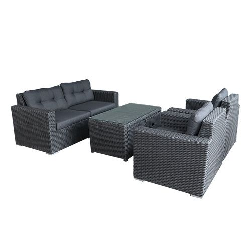 Couto Sofa Loungeset Black