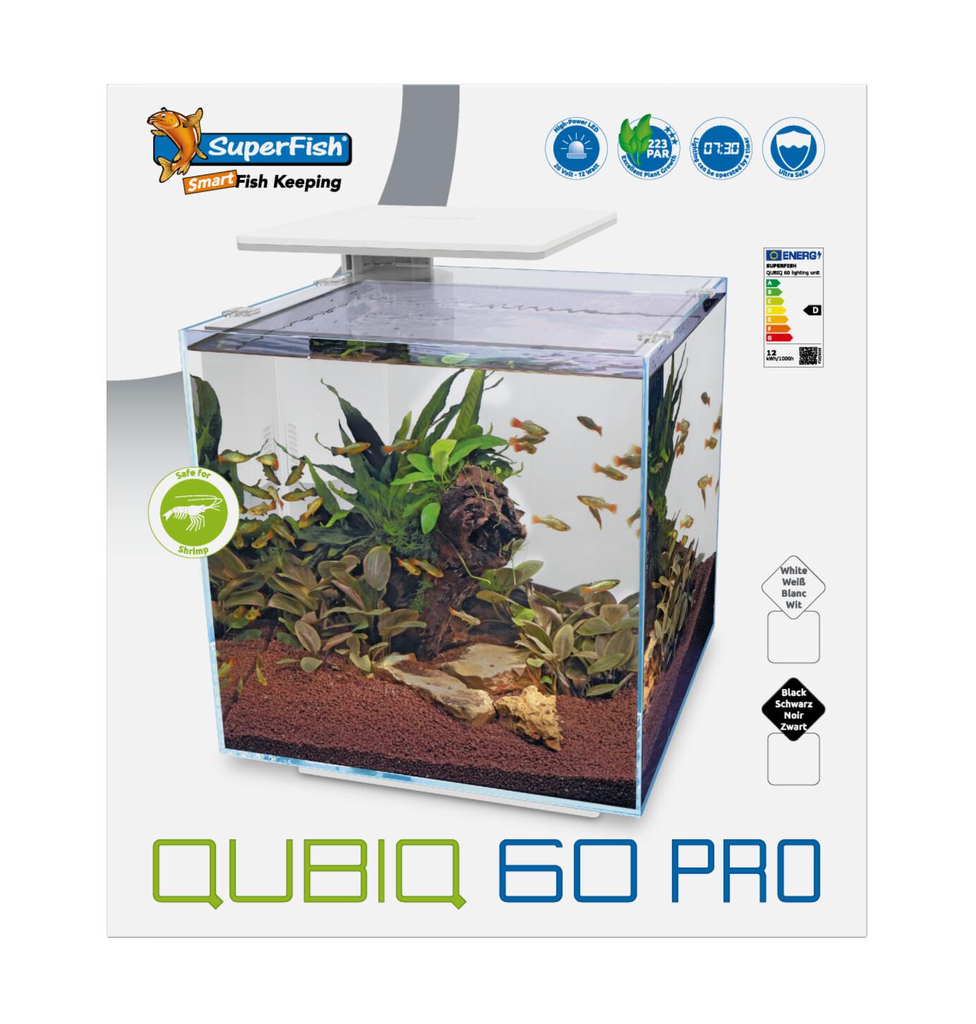 QUBIQ 60 PRO ZWART