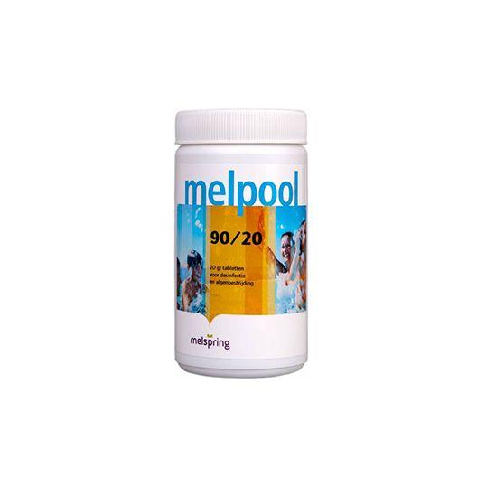 Melpool chloortablet 20 gr
