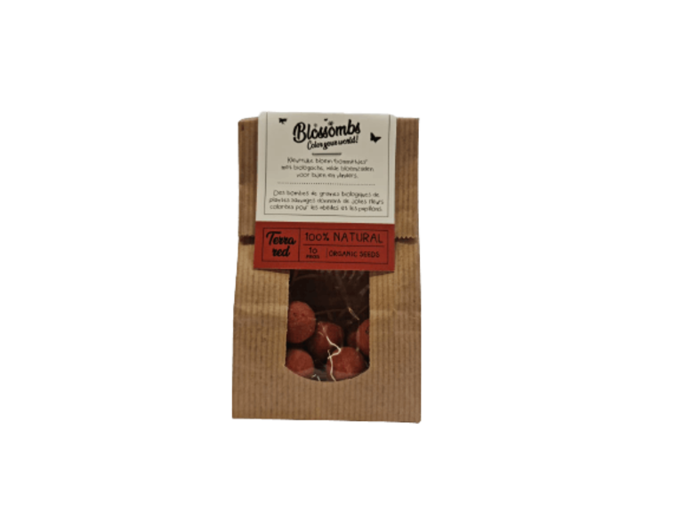 Blossombs Kraft Bag 10 - Terra Red