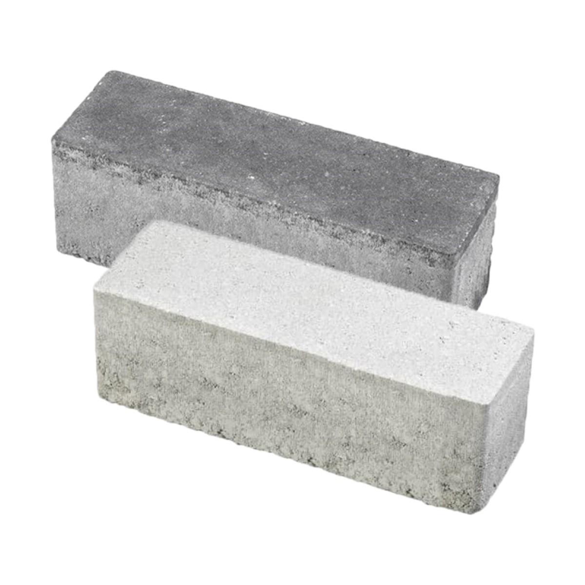 Minimaal 75! Aqua bricks waterpasserend 10x30x8cm grijs gesloten