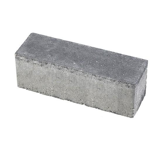 Minimaal 75! Aqua bricks waterpasserend 10x30x8cm zwart gesloten