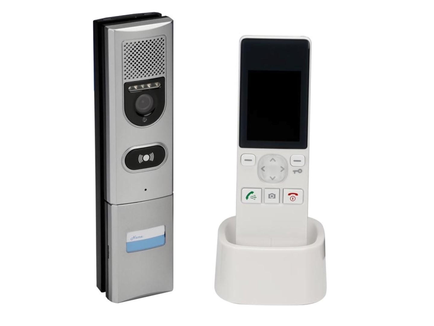 Video-intercomsysteem met LCD-kleurenscherm draadloos