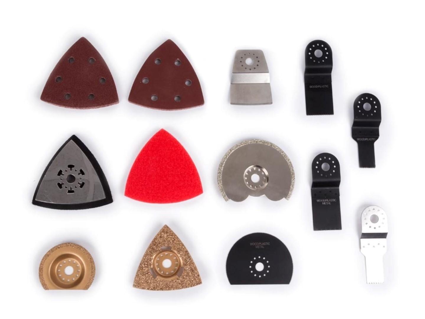Accessoires voor multitool - 23 st