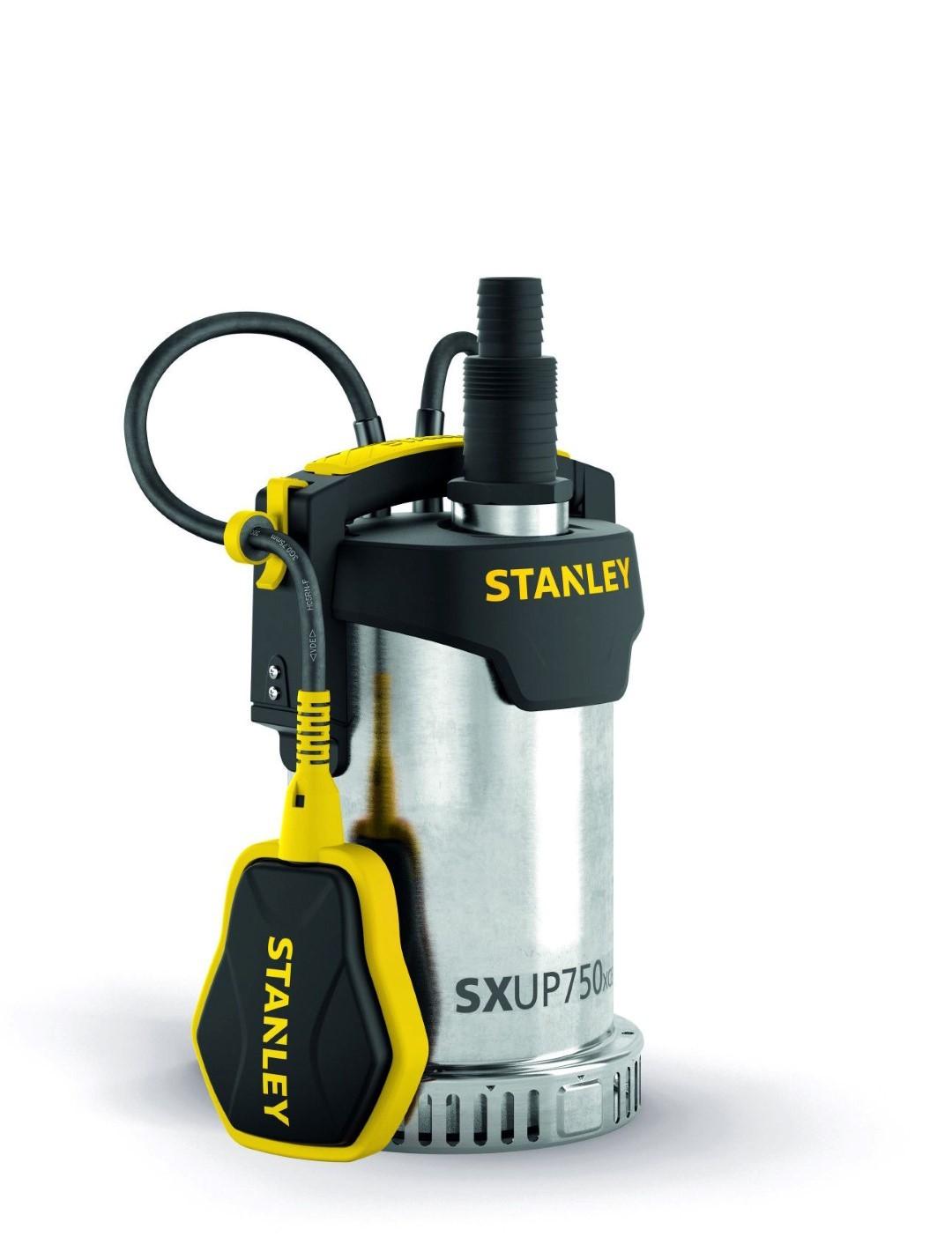 Stanley - dompelpomp - roestvrij staal - helder water - 750 w