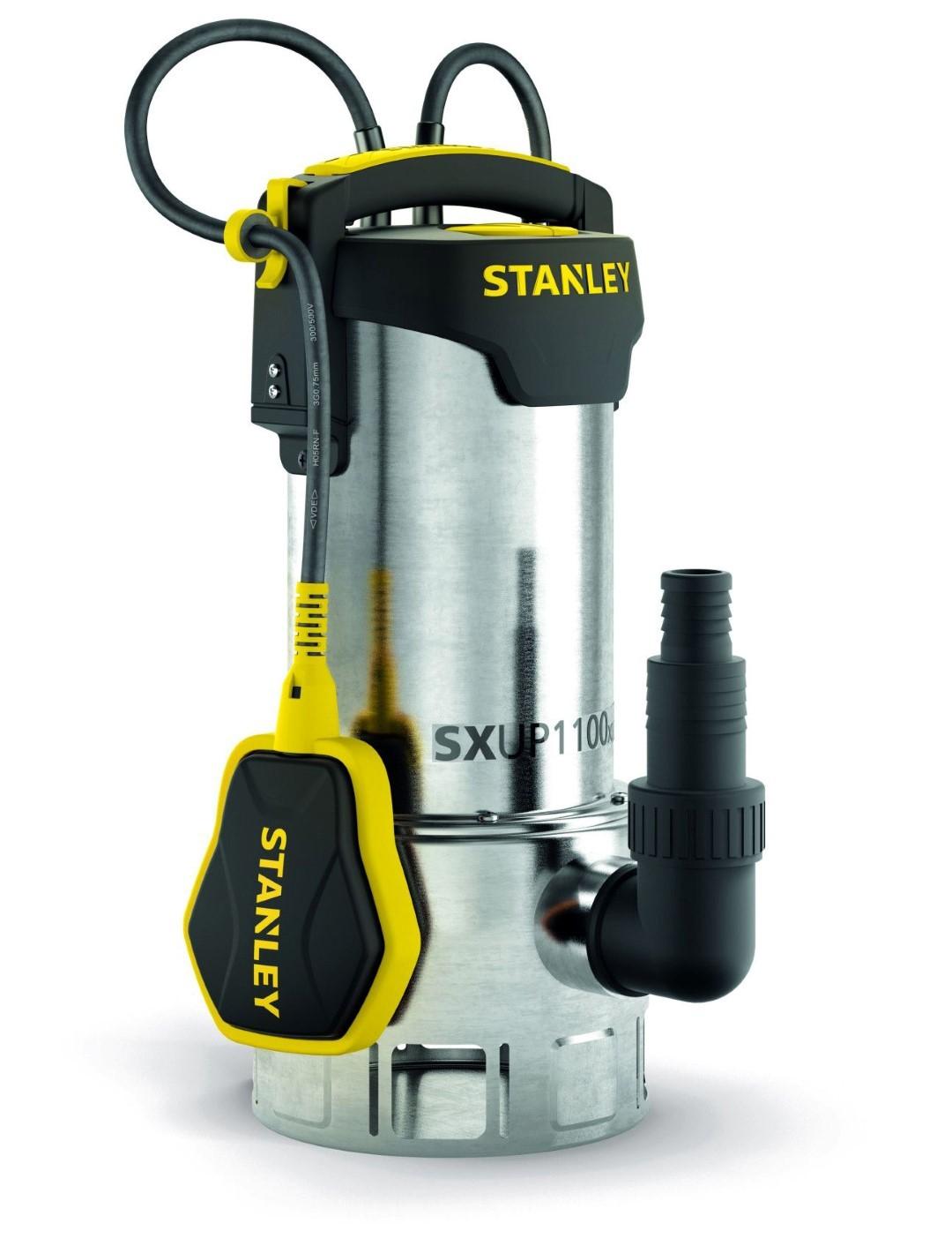Stanley - dompelpomp - roestvrij staal - vuilwater - 1100 w