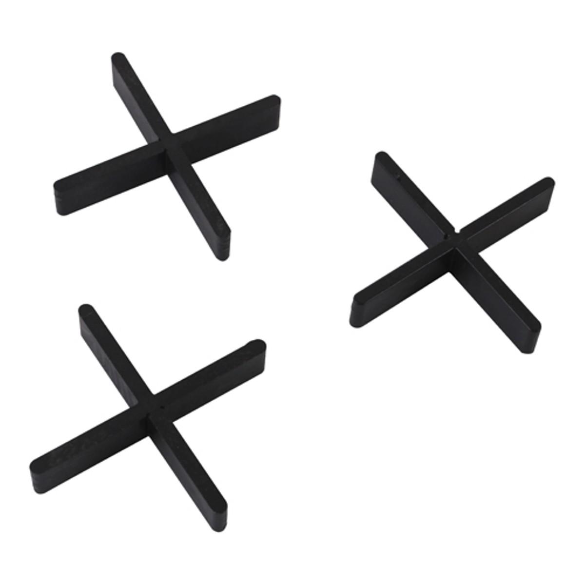 Voegkruis afbreekbaar zwart 3mm 10x55mm (100st.)