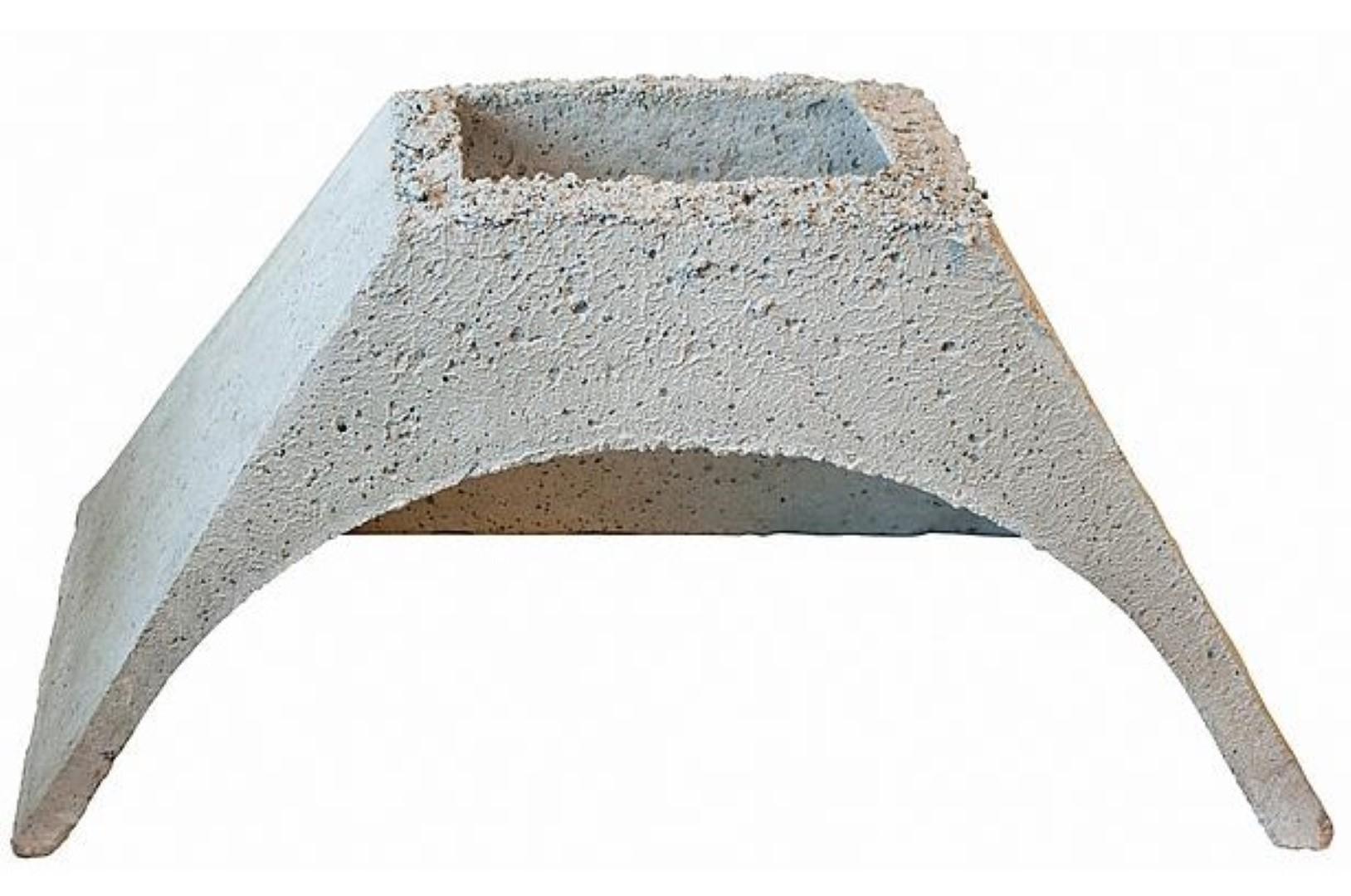 Vuurvaste kap voor betonnen stenen bbq