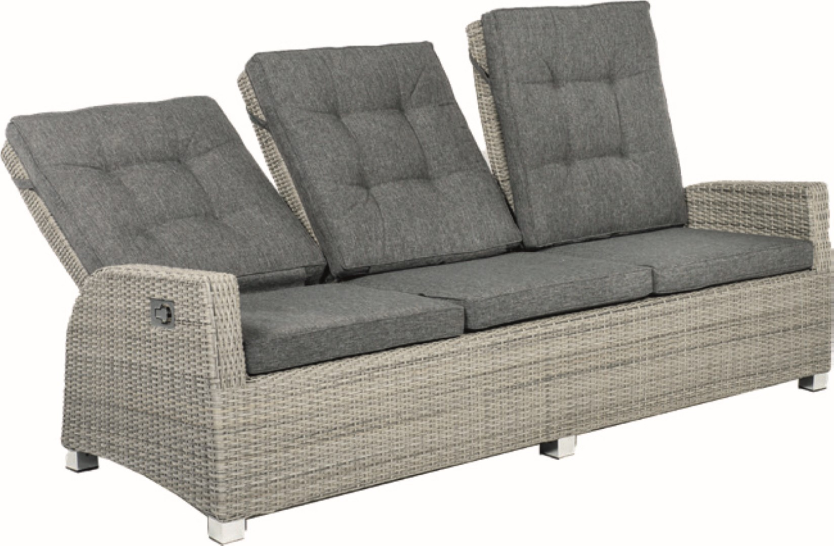 Barcelona Lounge Bench 3-seater