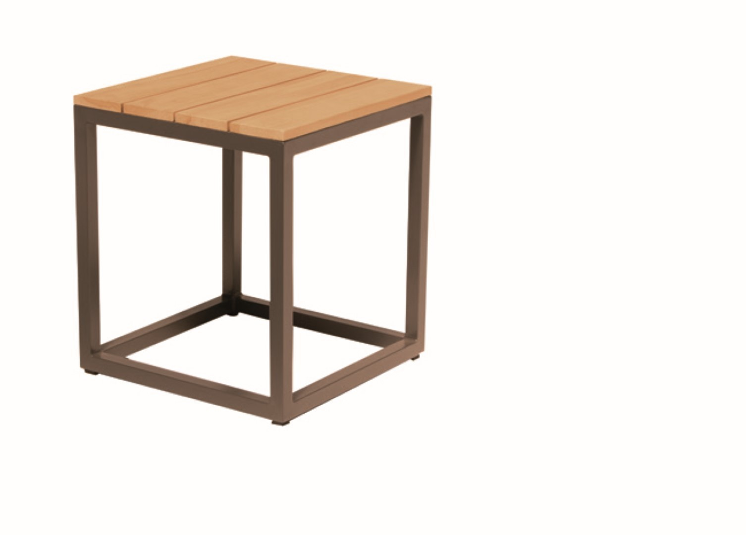 Rio Square Coffee Table Teak Top Rio S 40 x 40 cm