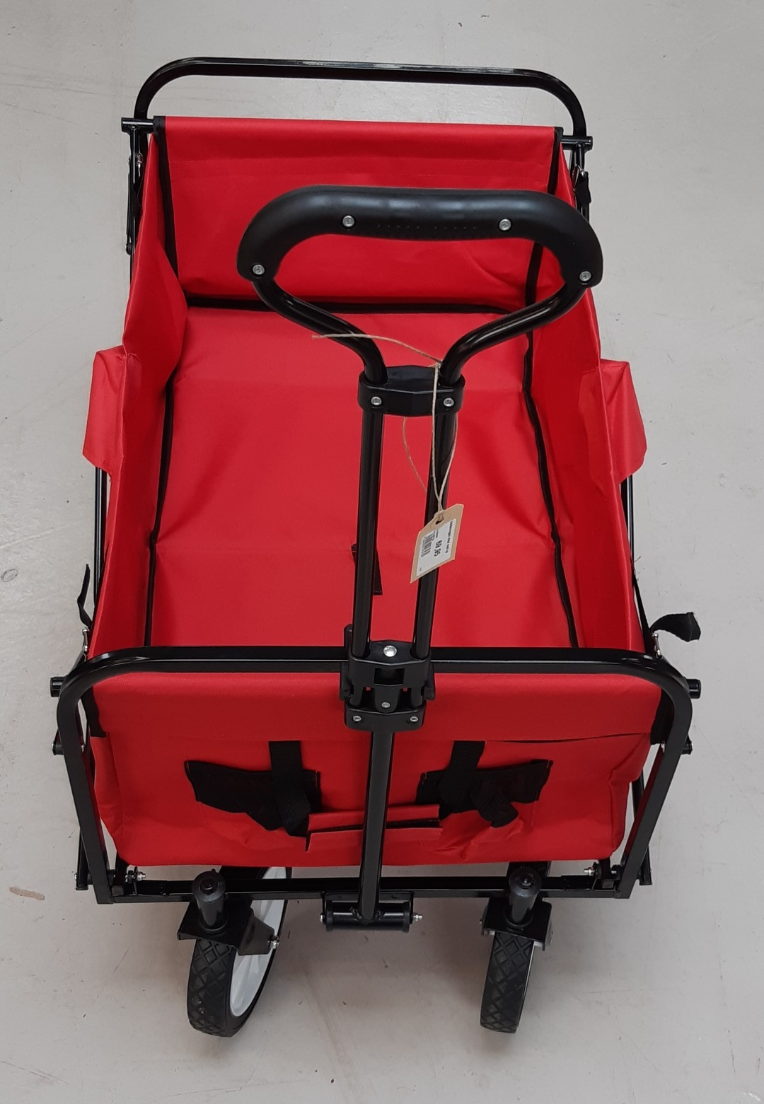 Bolderwagen rood