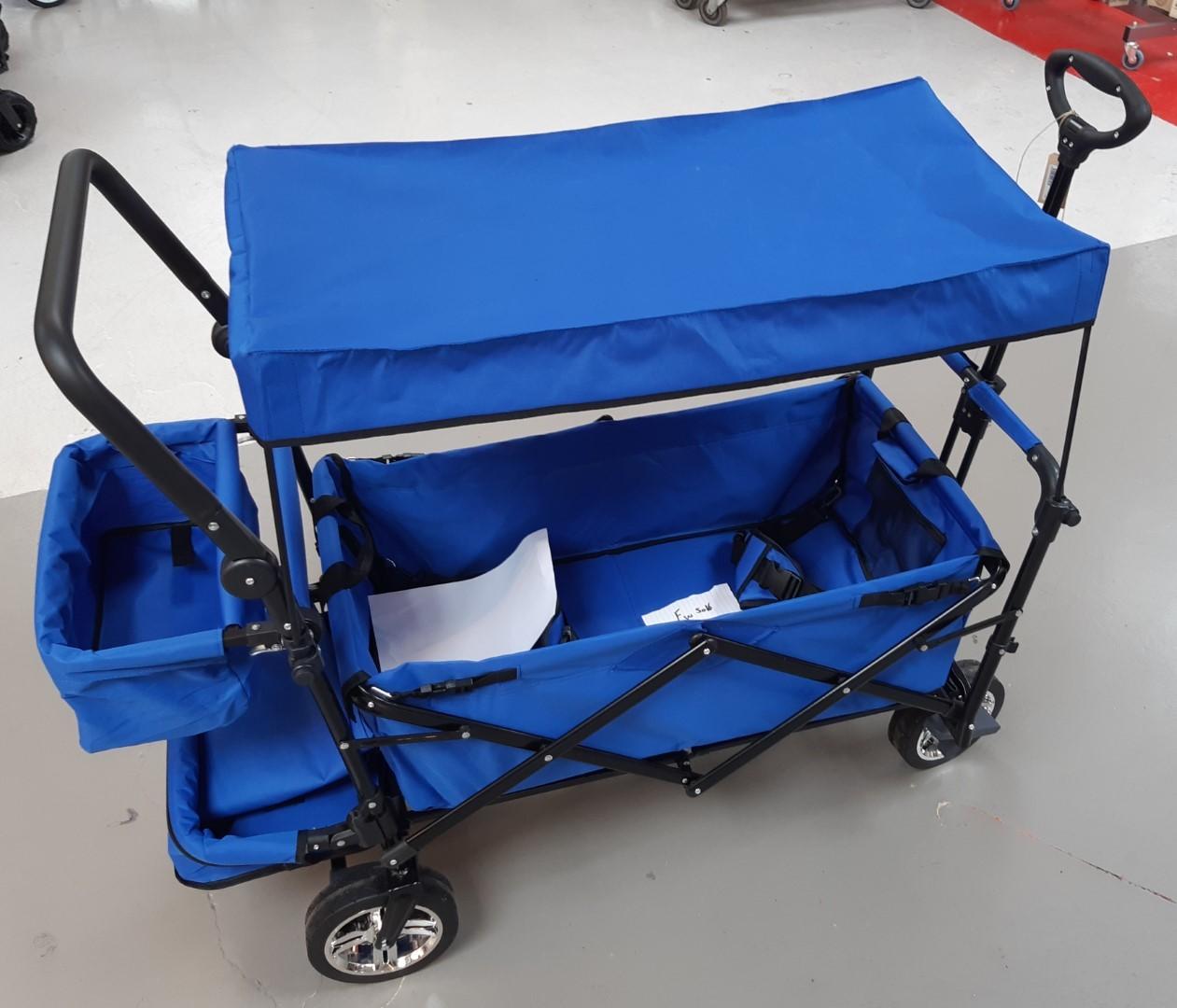 Bolderwagen de luxe blauw