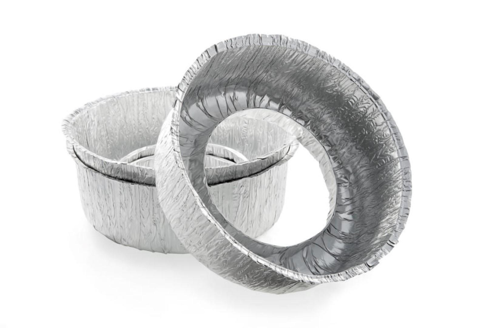 Aluminium wegwerpkom
