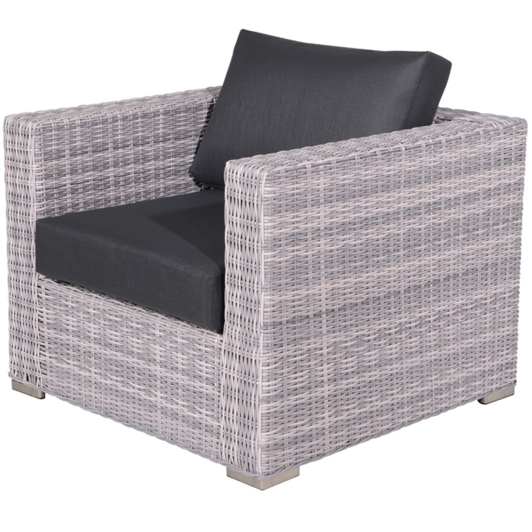 Tennessee lounge fauteuil cloudy Grijs