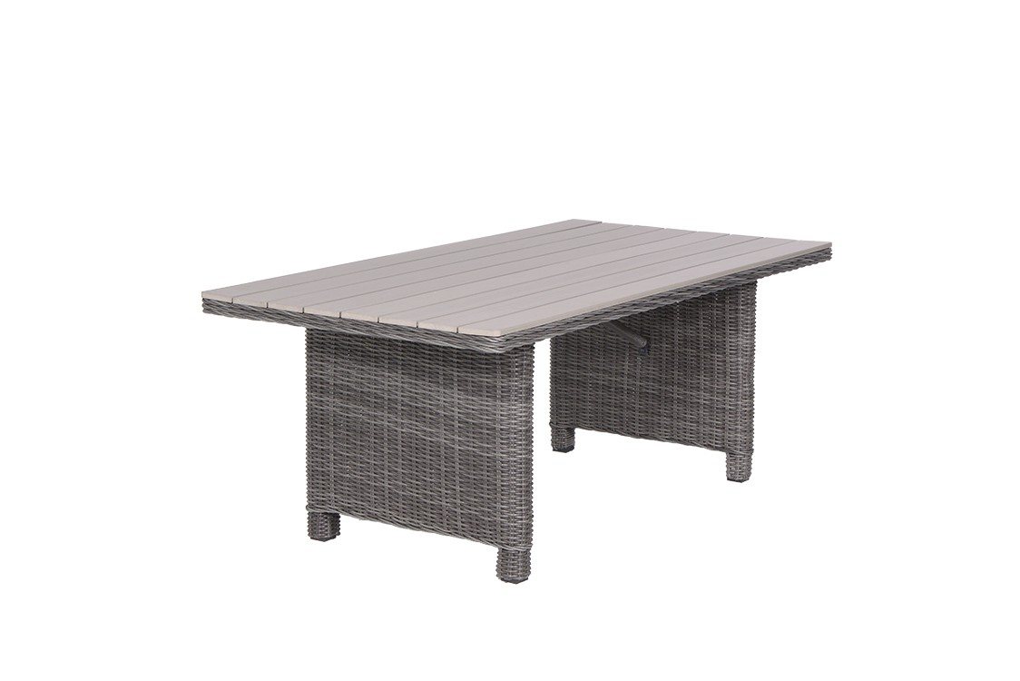 Tuintafel 170 x 90 grijs