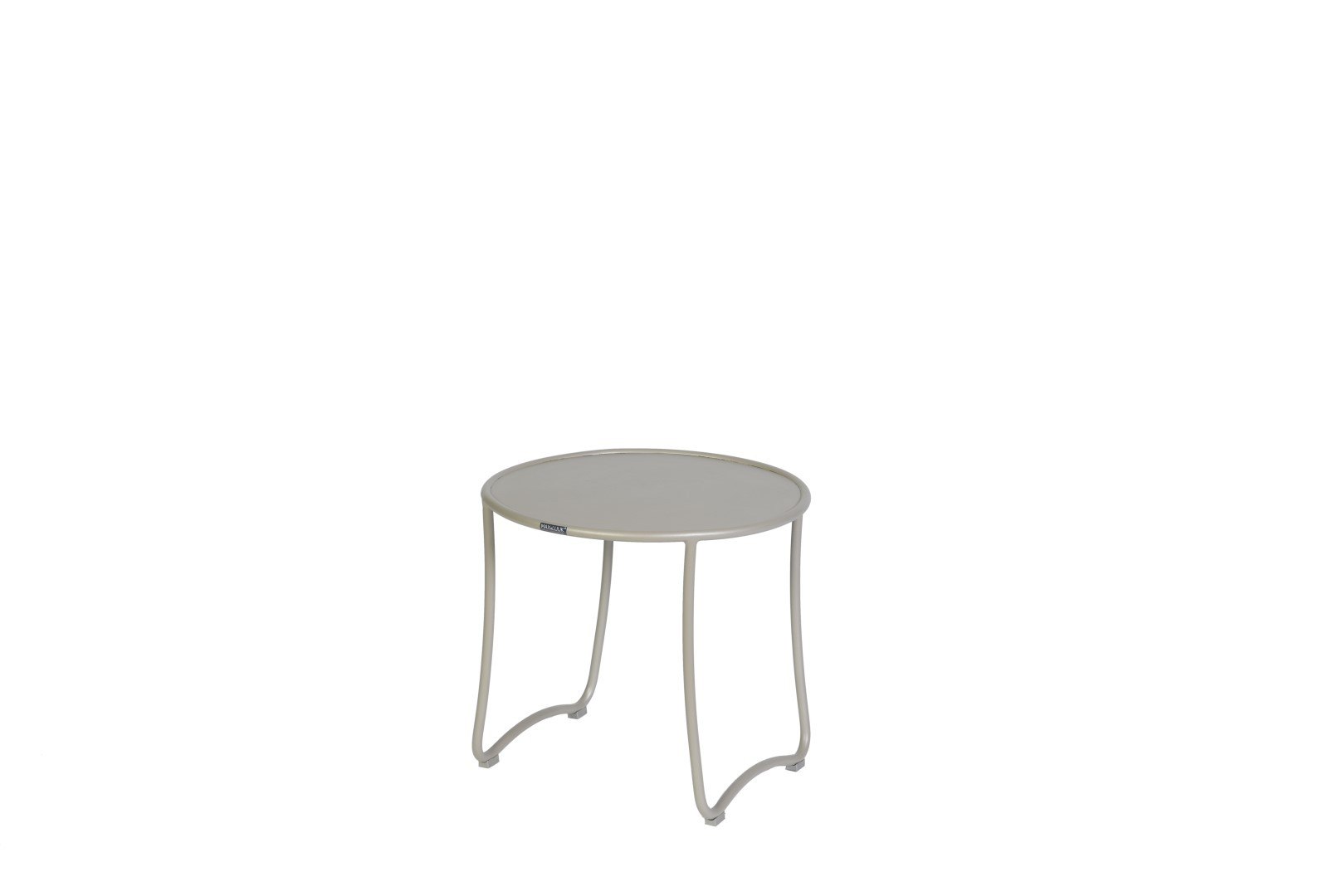 Emma side table diameter50x46 cm taupe