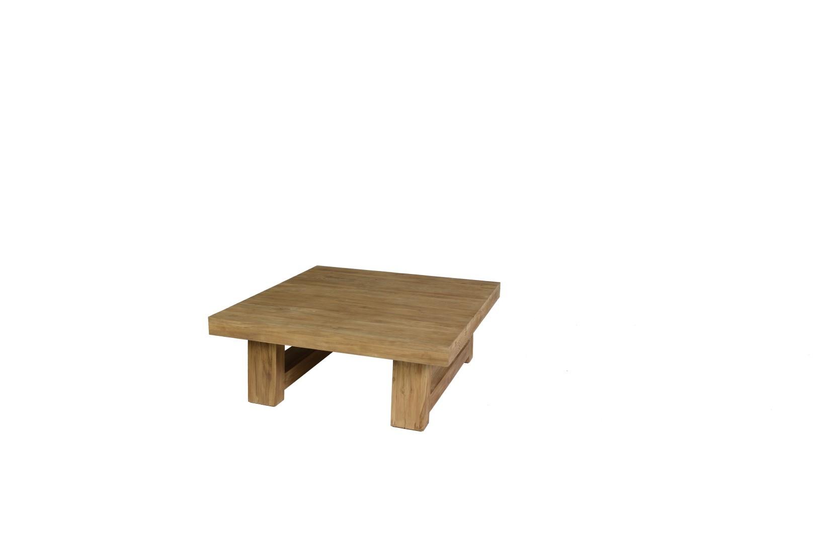Thomas coffee table 110x110x43 cm teak
