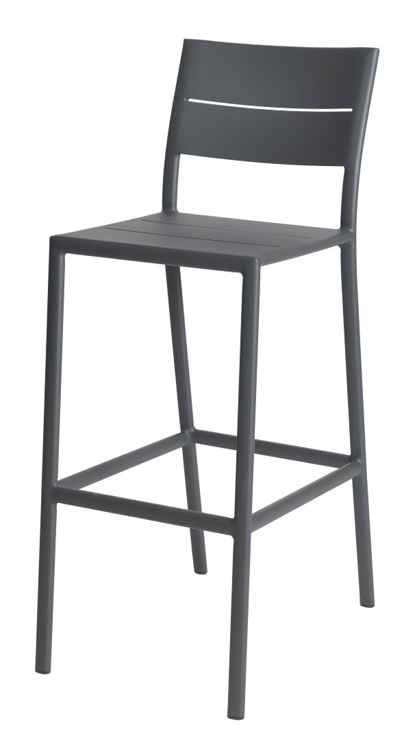 Grace bar chair alu anthracite