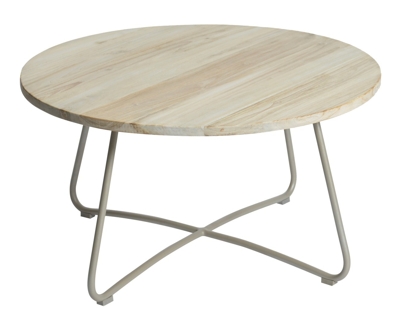 Lily coffee table diameter80,5x43 cm taupe