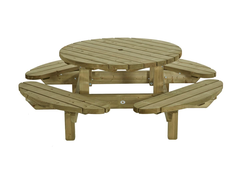 Picknicktafel rond 210