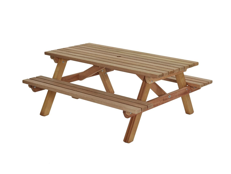 Picknicktafel hardhout 180cm