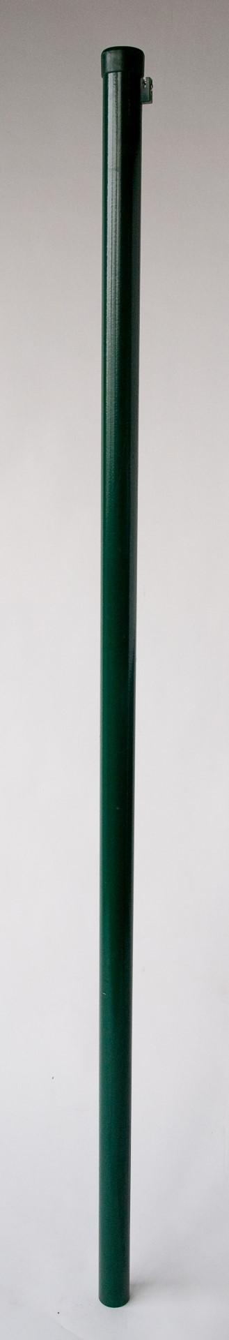 IJzeren paal Kant & klaar haag groen gecoat 260 cm