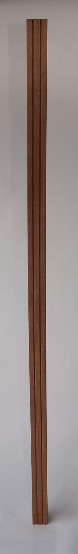 Hardhouten paal Kant & klaar haag 305 cm
