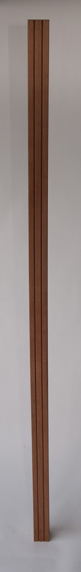 Hardhouten paal Kant & klaar haag 275 cm