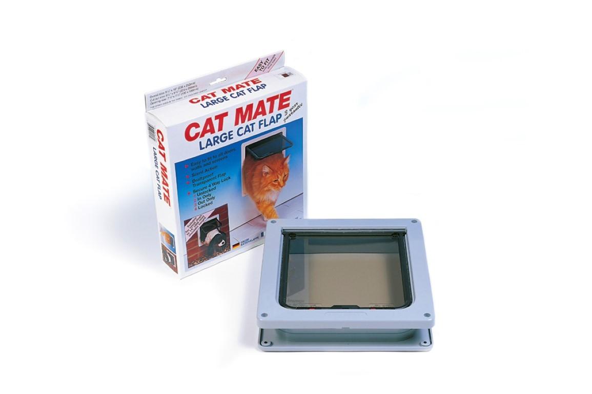 Petmate kattendeur gr, 221 brn
