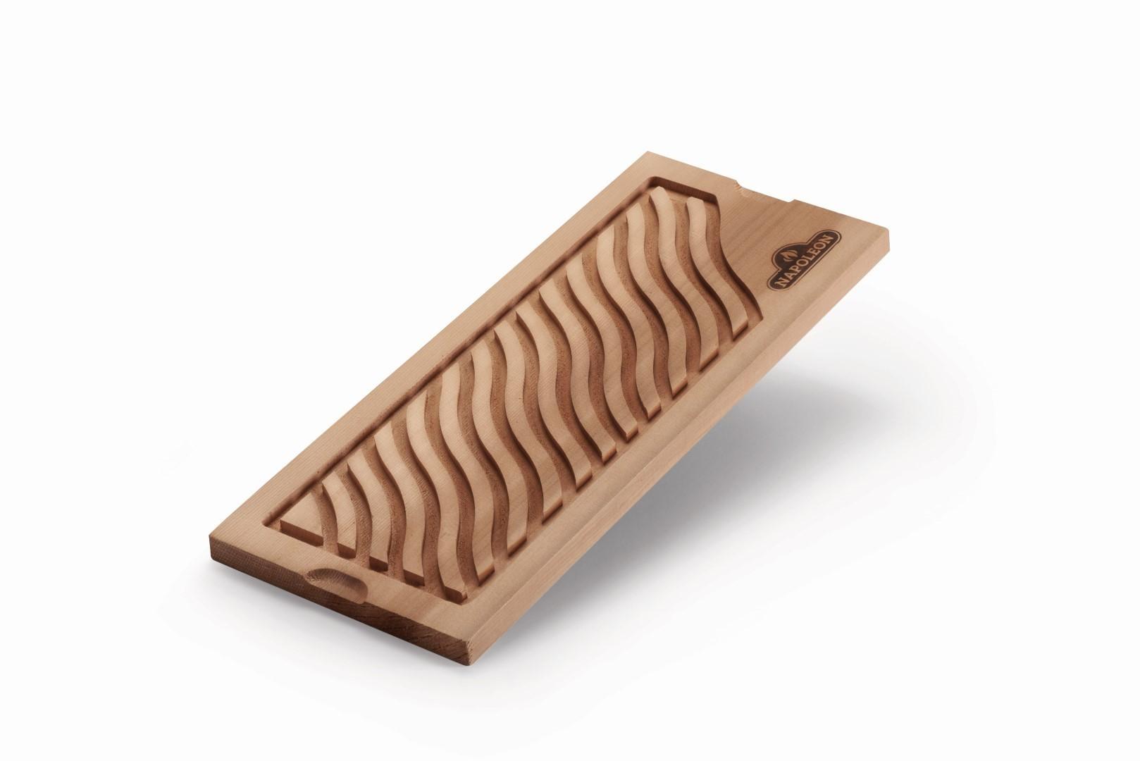 Infusion plank van cederhout, voor toevoegen van vloeistoffen
