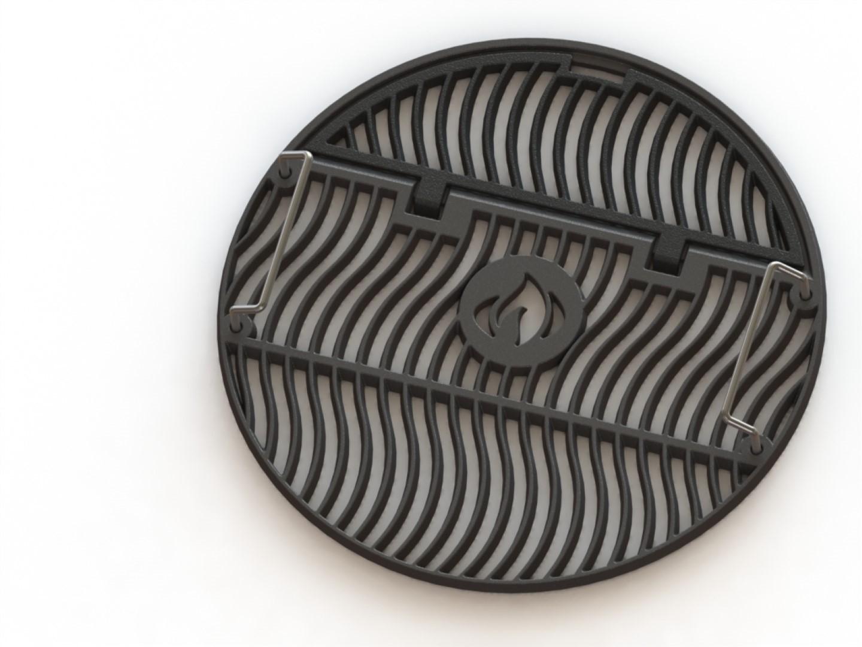 Gietijzeren grillrooster voor diameter 47cm houtskoolgrills
