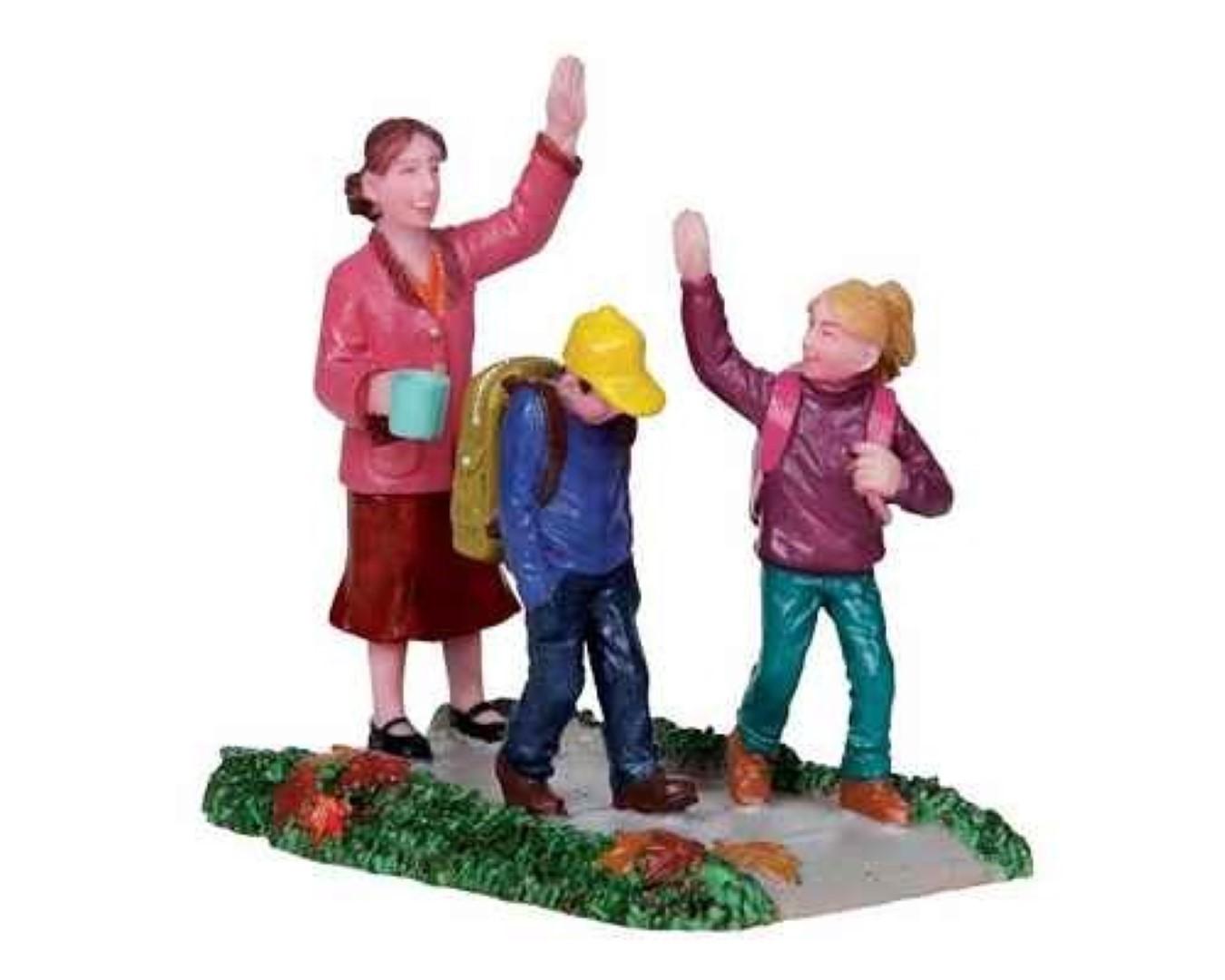 Kerstfiguur Back to school LEMAX