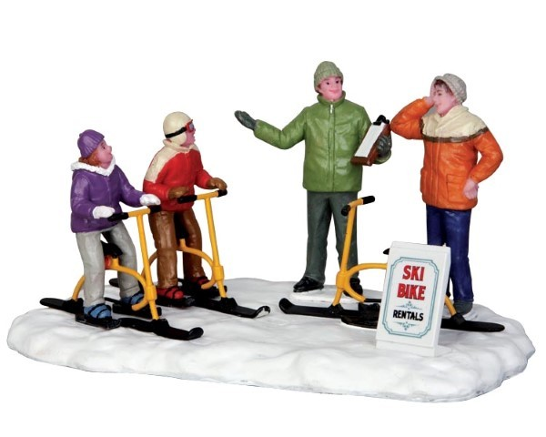 Ski bike rentals LEMAX