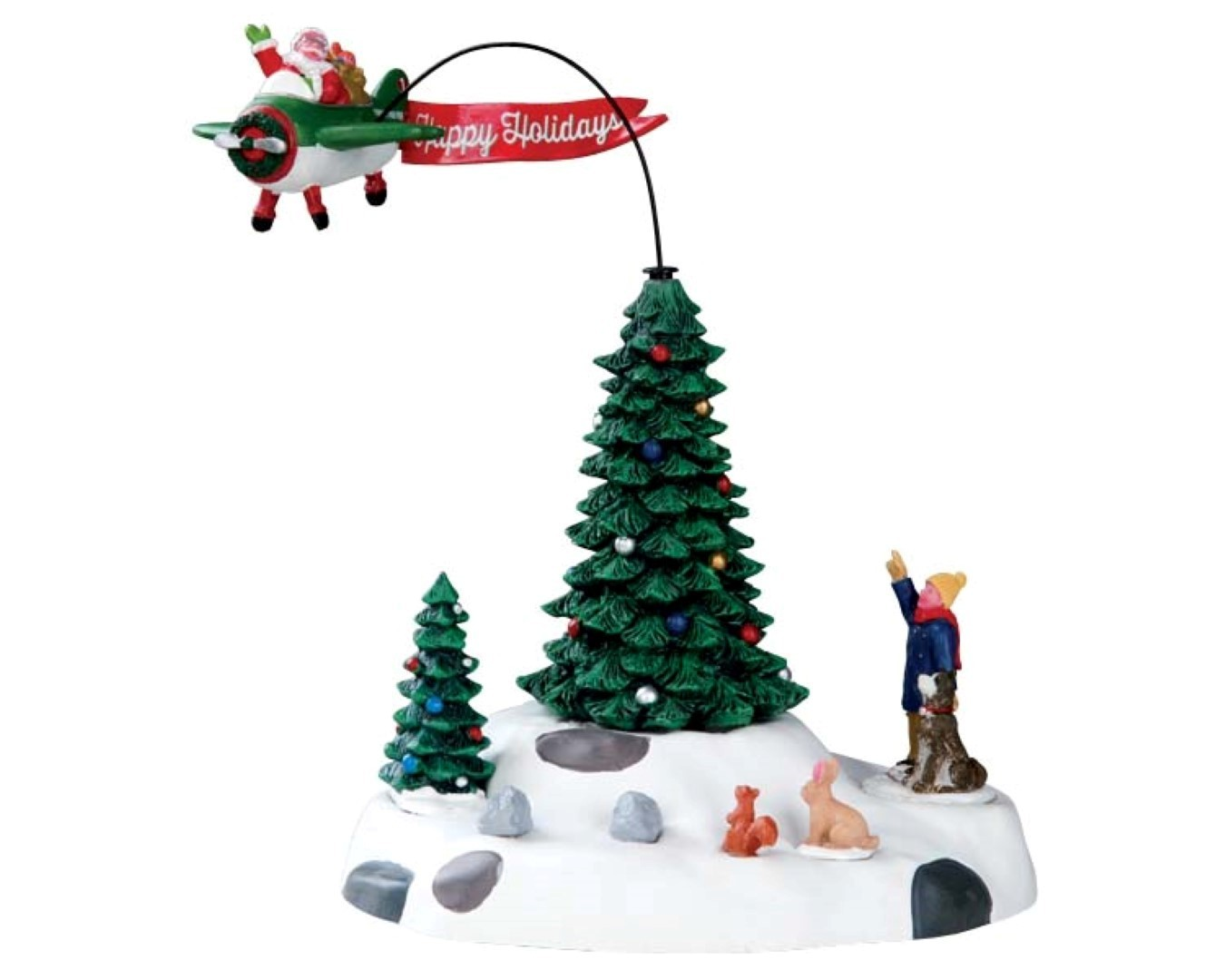 Modern Santa w 4.5v adpt