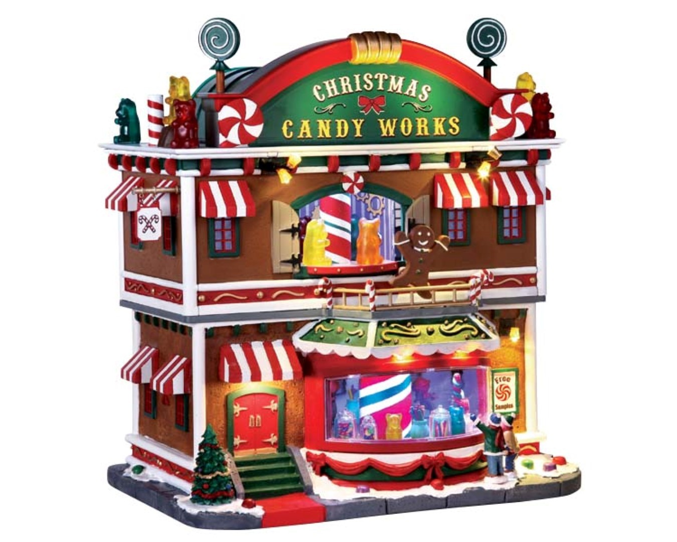 Christmas candy works with 4.5v adaptor