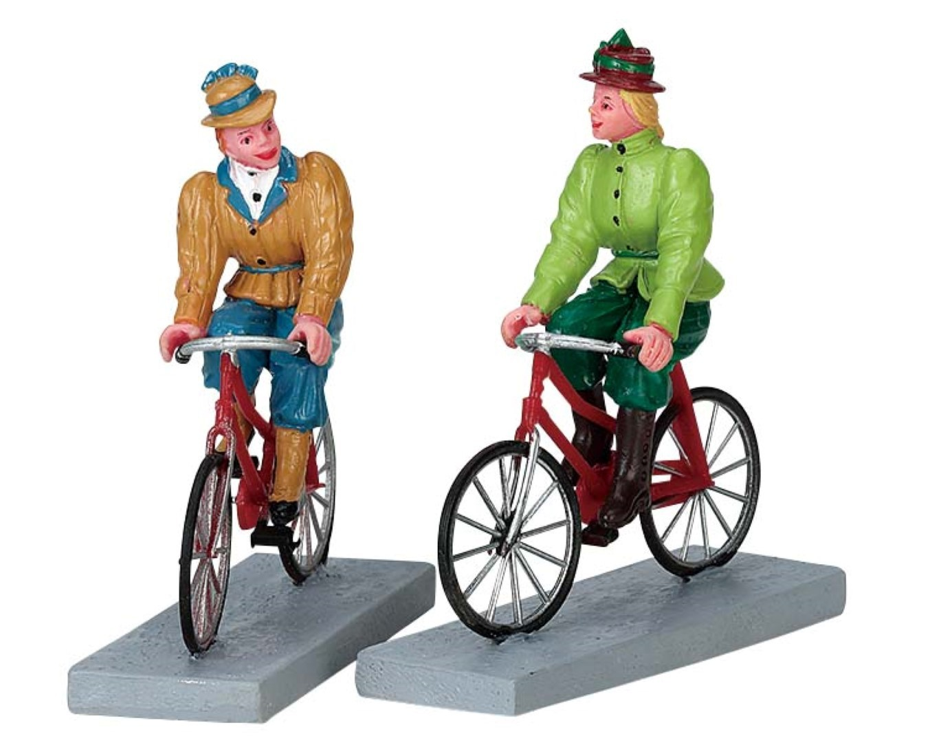 Bloomers and bicycles set of 2