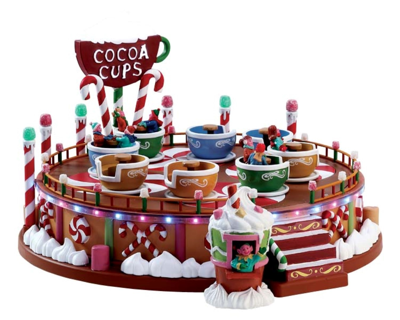 Cocoa cups set of 2 with 4.5v adaptor