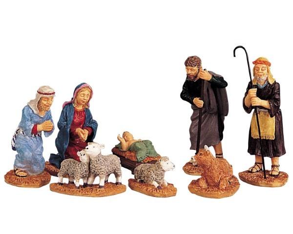 Nativity figurines LEMAX