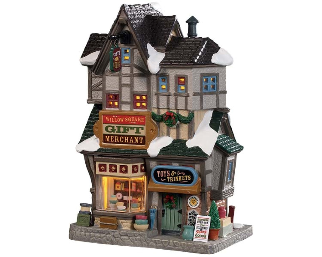 Willow square gift merchant LED