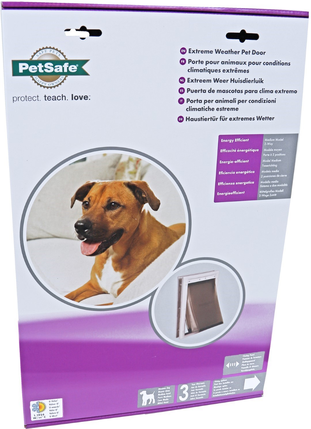 PetSafe huisdierendeur extreme weather medium PPA19-15795