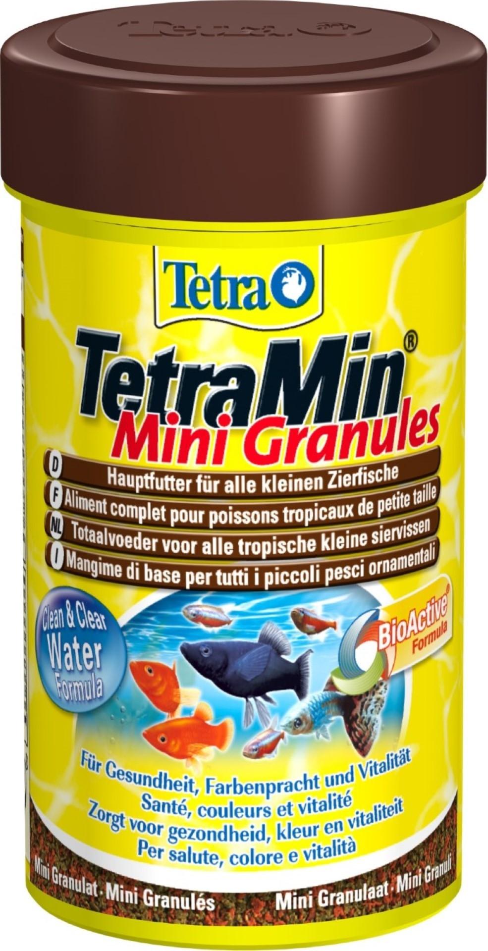 Tetra Min mini granulaat bio-active 100 ml