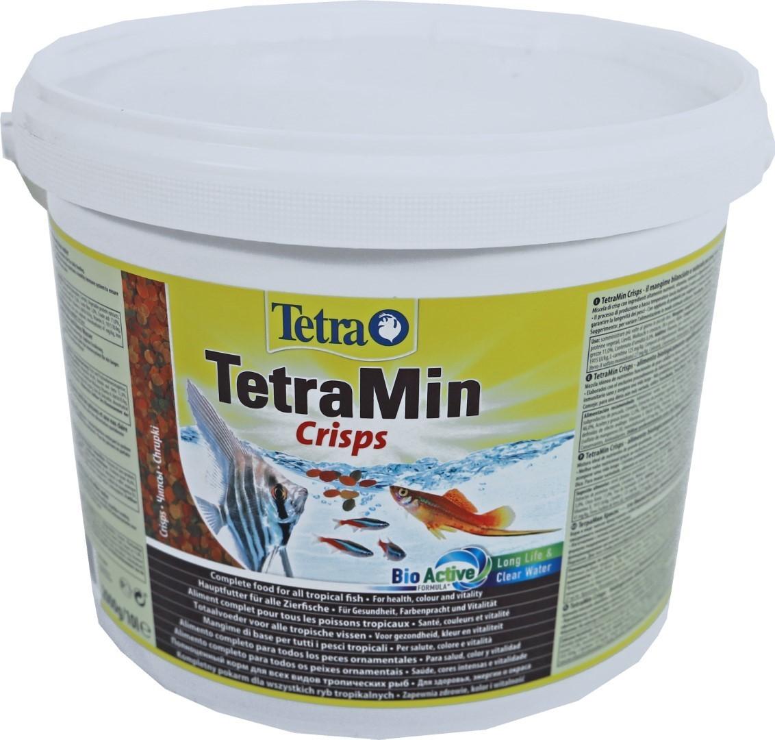 Tetra Min Pro crisps 10 liter emmer