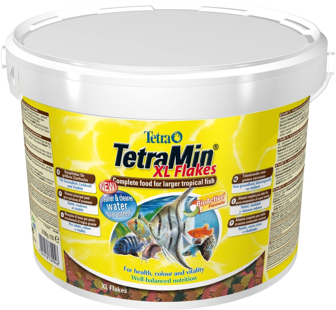 Tetra Min XL bio-active 10 liter emmer