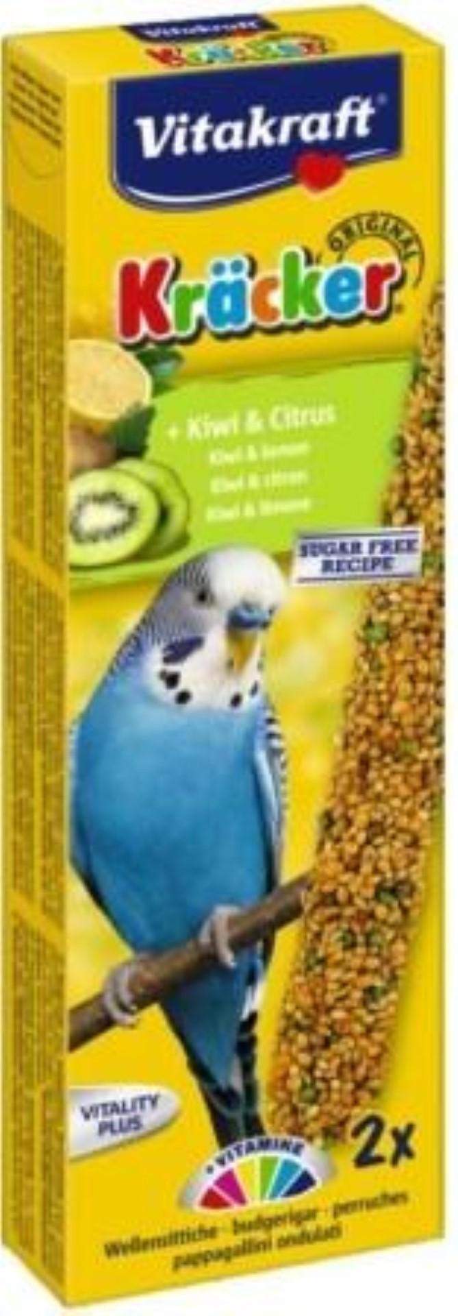 Vitakraft kiwi/citrus-kracker parkiet 2in1