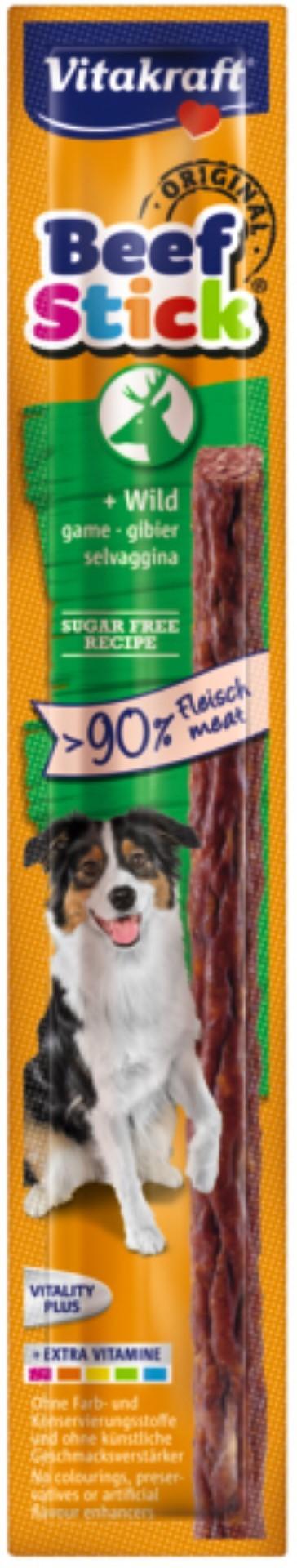 Vitakraft Beef-Stick wild hond 12 gram