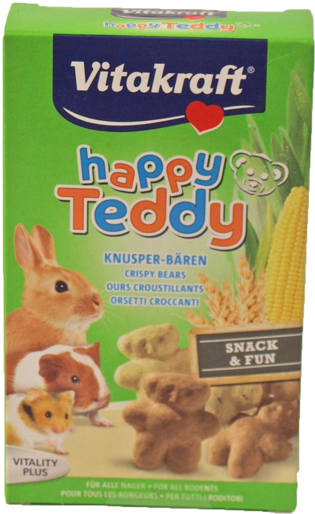 Vitakraft Happy Teddy knaagdier en konijn 75 gram