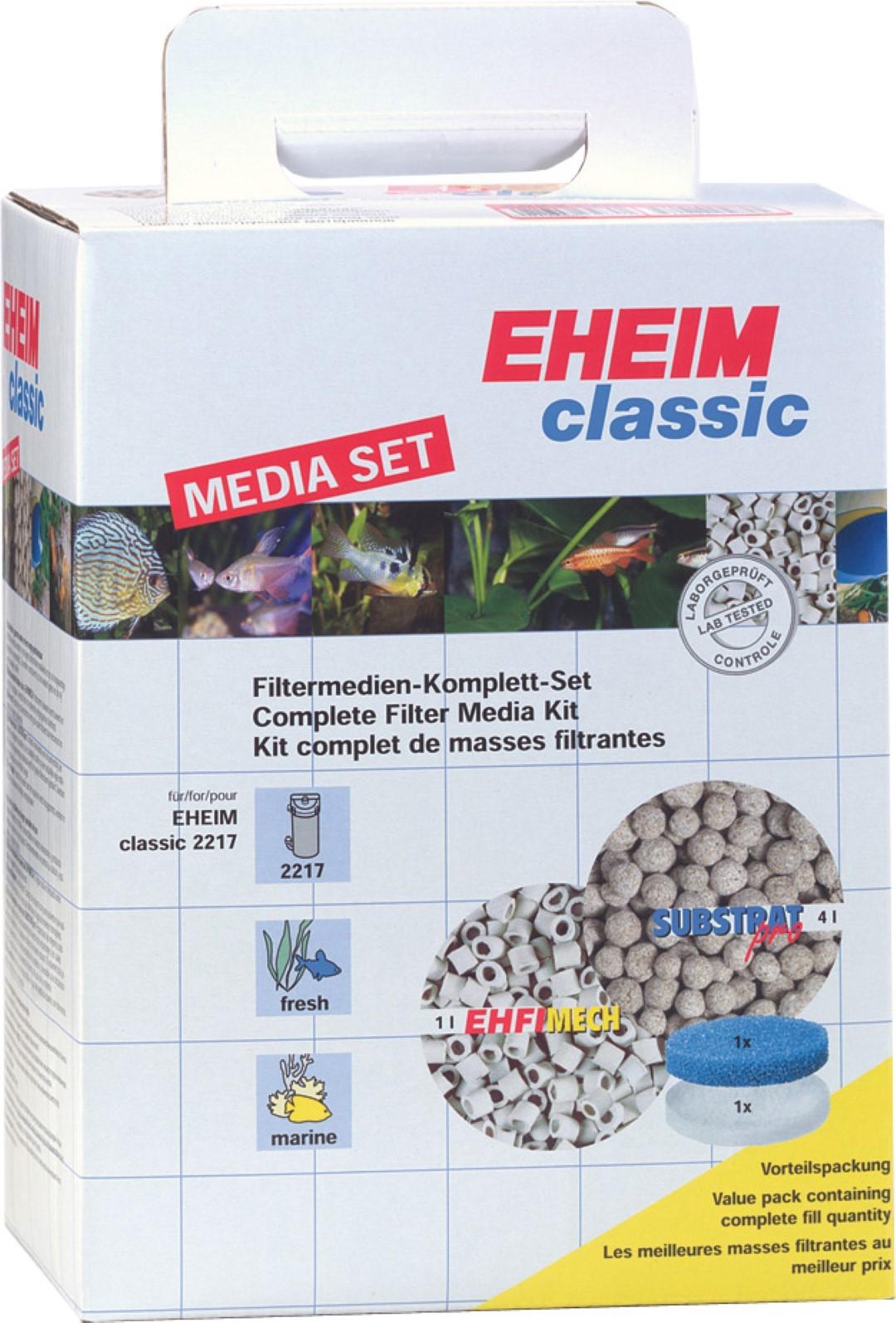 Eheim filtermedia set 2522170 voor pomp 2217/Classic 600