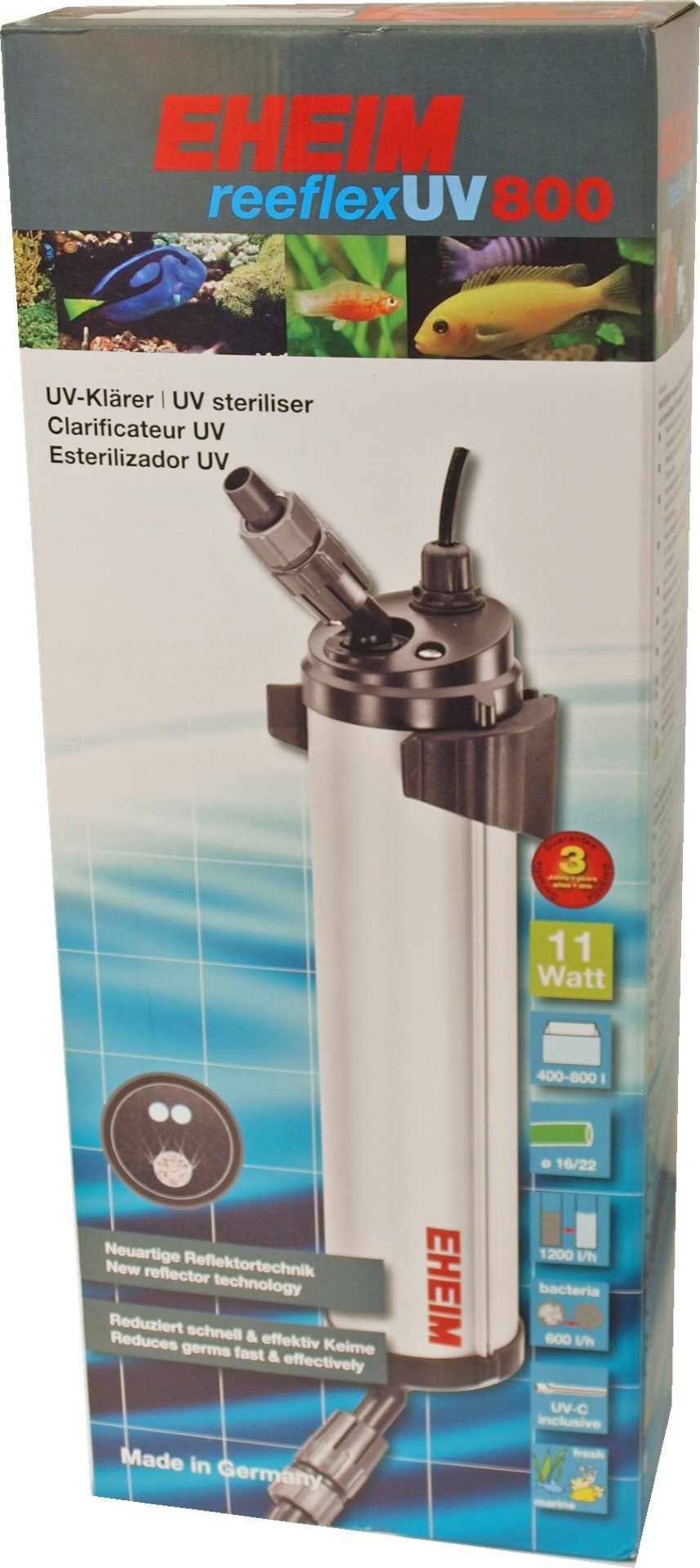 Eheim UV sterilizer Reeflex UV800