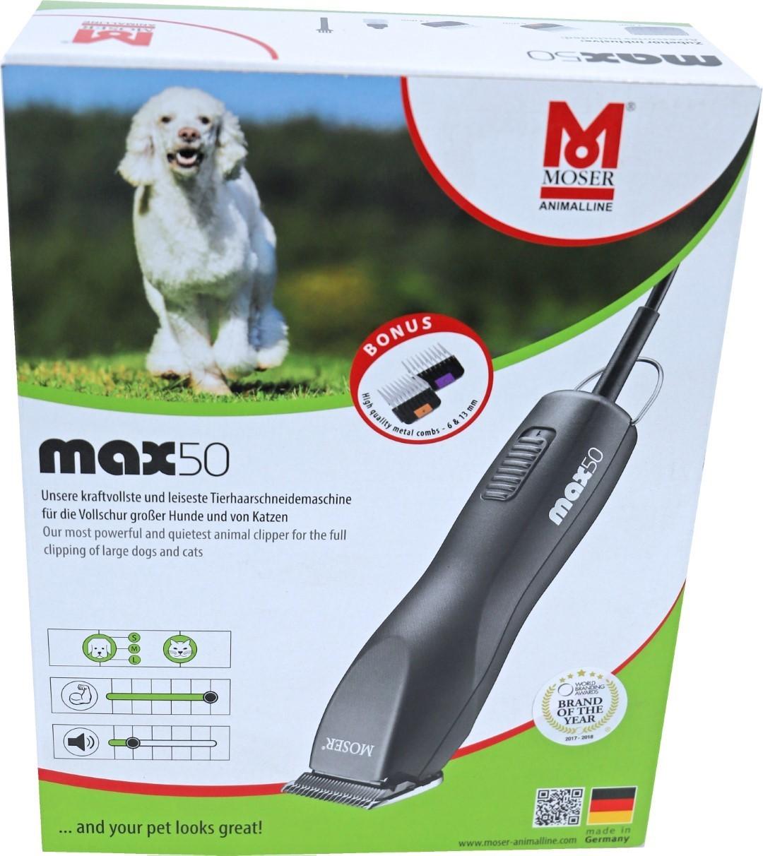Moser tondeuse MAX 50 zwart