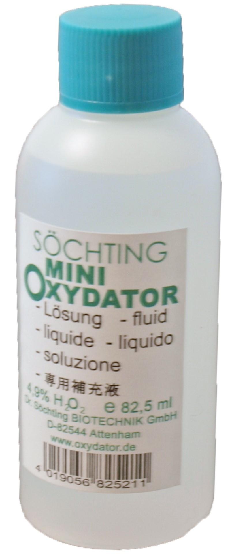 Sochting oxydator vloeistof mini 82.5 ml 4,9%